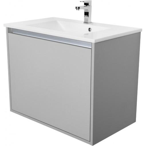 CEDERIKA - Amsterdam umývadlová 1x šuplík farba svetlo šedá korpus korpus svetlosivá šírka 75 (CA.U1B.111.075)