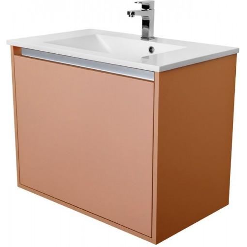 CEDERIKA - Amsterdam umývadlová 1x šuplík farba metallic medený korpus korpus metallic medený šírka 75 CA.U1B.133.075