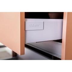 CEDERIKA - Amsterdam umývadlová 2x šuplík farba metallic medený korpus korpus metallic medený šírka 75 CA.U2B.133.075
