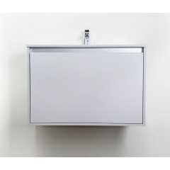 CEDERIKA - Amsterdam umývadlová 1x šuplík farba svetlo šedá korpus korpus svetlosivá šírky 90 CA.U1B.111.090