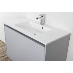CEDERIKA - SLIM 90 umývadlo z liateho mramoru - BIELE CA.05484