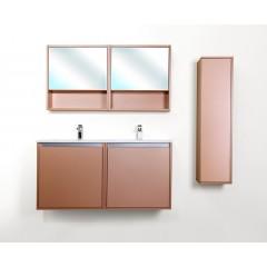 CEDERIKA - Amsterdam galerka 1x výklopné farba zrkadlo v AL ráme korpus korpus metallic medený šírky 60 (CA.G1V.193.060)