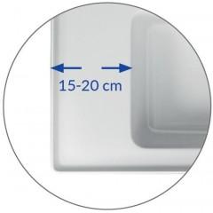 CERSANIT - NÁBYTKOVÉ UMÝVADLO 100 CREA BOX K114-018