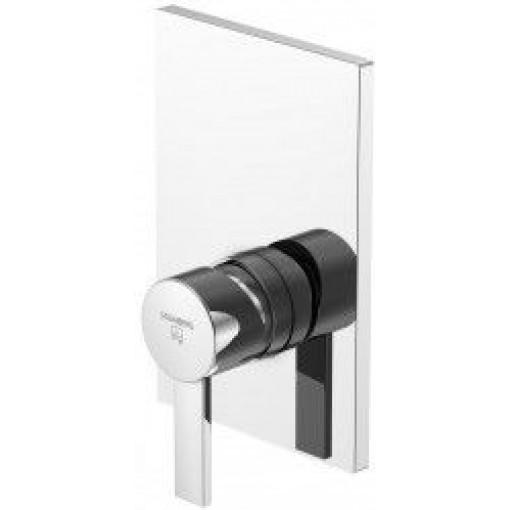 STEINBERG - Podomietková jednopáková zmiešavacie batérie pre vaňu / sprchu, chróm 120 2243