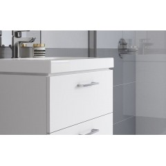 CERSANIT - SET 802 LARA CITY 60 Biela skrinka + umývadlo (S801-142-DSM)