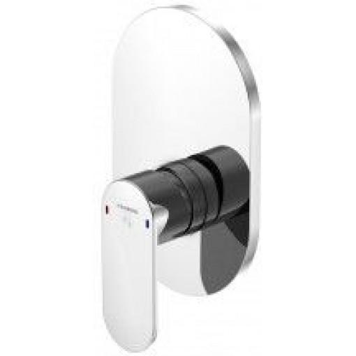 STEINBERG - Podomietková jednopáková zmiešavacie batérie pre vaňu / sprchu, chróm 170 2243