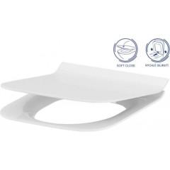 ALCAPLAST Renovmodul - predstenový inštalačný systém bez tlačidla + WC CERSANIT CLEANON CREA štvorec + SEDADLO (AM115/1000 X CR2)