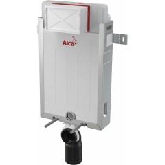 ALCAPLAST - SET Renovmodul - predstenový inštalačný systém + tlačidlo M1710 + WC CERSANIT CLEANON PRESIDENT + SEDADLO (AM115/1000 M1710 PR1)
