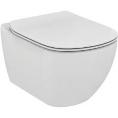 ALCAPLAST Renovmodul - predstenový inštalačný systém s bielym tlačidlom M1710 + WC Ideal Standard Tesi so sedadlom SoftClose, AquaBlade (AM115/1000 M1710 TE1)