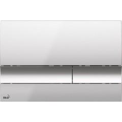 ALCAPLAST Renovmodul - predstenový inštalačný systém s chrómovým tlačidlom M1721 + WC CERSANIT CLEANON CREA štvorec + SEDADLO AM115/1000 M1721 CR2