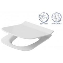 ALCAPLAST Sádromodul - predstenový inštalačný systém bez tlačidla + WC OPOCZNO CLEANON METROPOLITAN + SEDADLO AM101/1120 X ME1