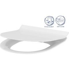ALCAPLAST Jádromodul - predstenový inštalačný systém bez tlačidla + WC CERSANIT CLEANON CREA OVÁL + SEDADLO AM102/1120 X CR1