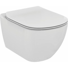 ALCAPLAST Sádromodul - predstenový inštalačný systém bez tlačidla + WC Ideal Standard Tesi se sedadlem (AM101/1120 X TE3)