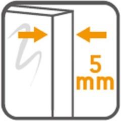 CERSANIT - PRCHOVÝ KÚT OBDĹŽNIK 120x90X190 TRANSPARENT SKLO S154-004