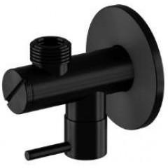 """STEINBERG - Rohový ventil 1/2 """"čierna mat 100 1640 S"""