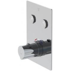 STEINBERG - Podomietková termostatická batéria zo systémom PUSHTRONIC, 2 výstupy 390 4221