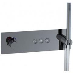 STEINBERG - Podomietková termostatická súprava so systémom PUSHTRONIC, 3 výstupy 390 4232