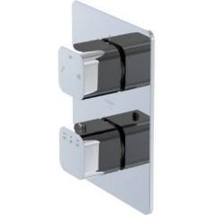 STEINBERG - Podomietková termostatická batéria /bez telesa/, 2 výstupy, chróm 230 4133
