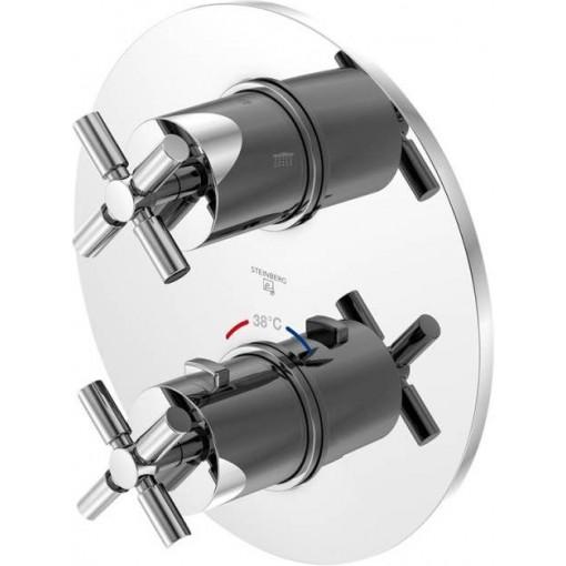 STEINBERG - Podomietková termostatická batéria / bez telesa/, 2 výstupy, chróm 250 4133