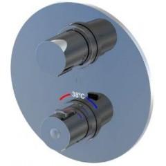 STEINBERG - Podomietková termostatická batéria 3-cestná / bez montážneho telesa /, chróm (100 4123 1)