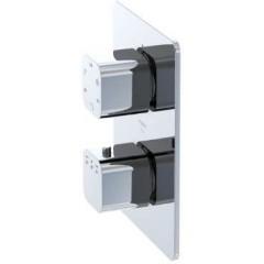 STEINBERG - Podomietková termostatická batéria / bez telesa /, 3 výstupy, chróm (230 4123)