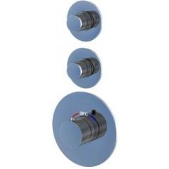 STEINBERG - Podomietková termostatická sprchová batéria, 2 výstupy, chróm (100 4320)
