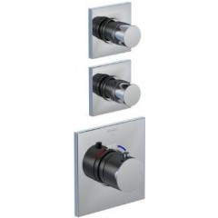 STEINBERG - Podomietková termostatická batéria, 2 ventily, chróm 120 4320