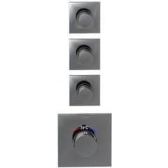 STEINBERG - Podomietková termostatická sprchová batéria, tri ventily, chróm 120 4330