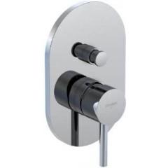 STEINBERG - Podomietková zmiešavacie batérie pre vaňu / sprchu s prepínačom, chróm (100 2103)
