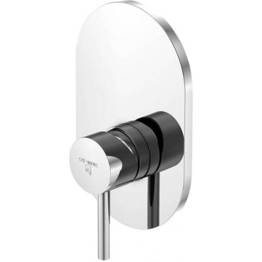 STEINBERG - Podomietková jednopáková zmiešavacie batérie pre vaňu / sprchu, chróm 100 2243