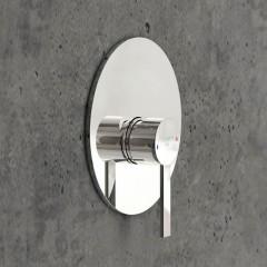 STEINBERG - Podomietková jednopáková zmiešavacie batérie pre vaňu/ sprchu, chróm 260 2243