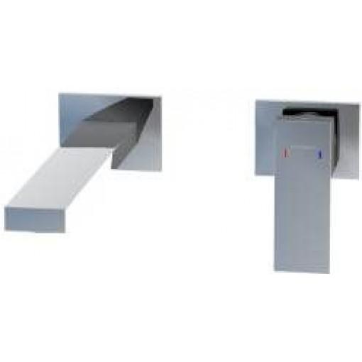STEINBERG - Podomietková umývadlová batéria 2-otvorová vrátane mosadzného telesa, chróm 160 1820
