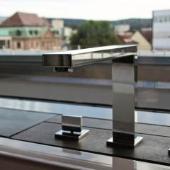 STEINBERG - Vaňová batéria 4-otvorová bez montážneho telesa, chróm (160 2402)