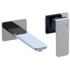 STEINBERG - Podomietková umývadlová batéria 2-otvorová vrátane mosadzného telesa, chróm 205 1800