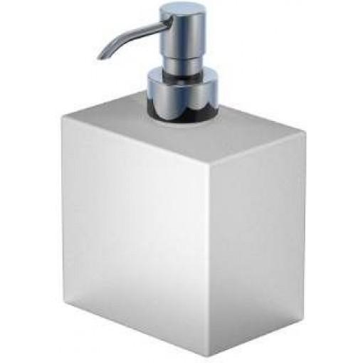 STEINBERG - Dávkovač tekutého mýdla, bielé sklo 460 8101