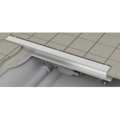 Alcaplast APZ106 Professional- liniový podlahový žlab snížený pro plný rošt 750 APZ106-750