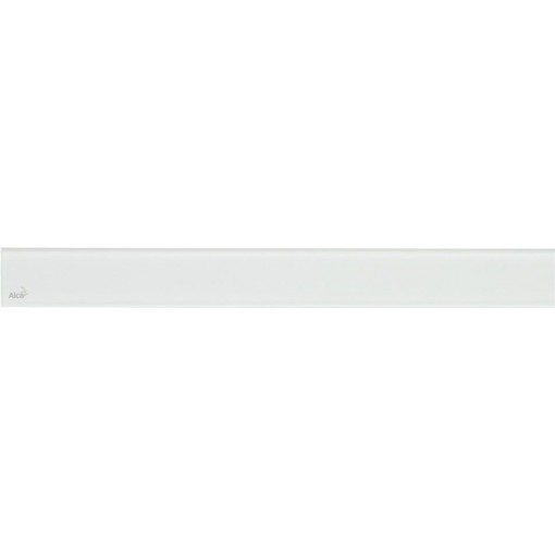 Alcaplast GLASS Rošt pro liniový podlahový žlab sklo bílé (GL1200-650)
