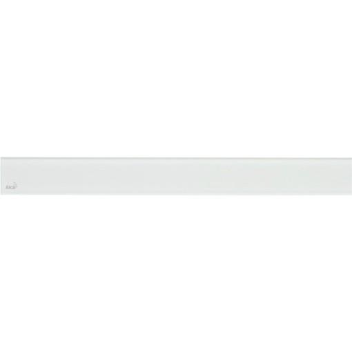 Alcaplast GLASS Rošt pro liniový podlahový žlab sklo bílé (GL1200-750)
