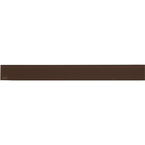 Alcaplast GLASS Rošt pro liniový podlahový žlab sklo hnědé (GL1203-950)