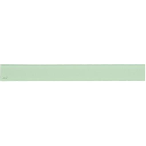 Alcaplast GLASS Rošt pro liniový podlahový žlab sklo zelené (GL1202-1050)