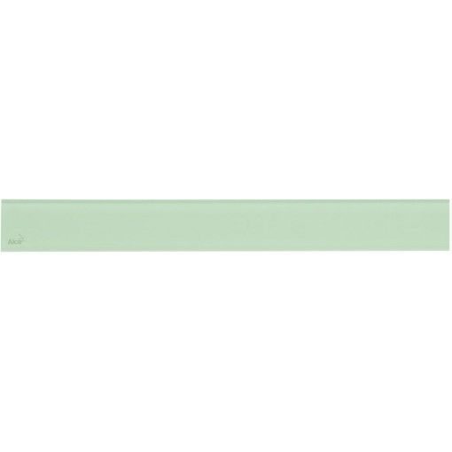 Alcaplast GLASS Rošt pro liniový podlahový žlab sklo zelené GL1202-550