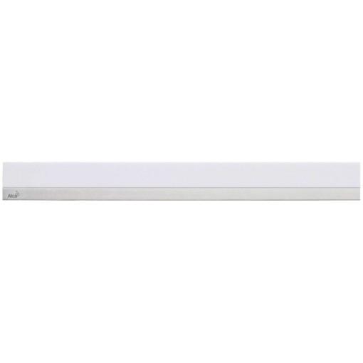Alcaplast MINERAL POSH Rošt pro liniový podlahový žlab syntetický kámen bílý  nerez mat (MP1200-750)