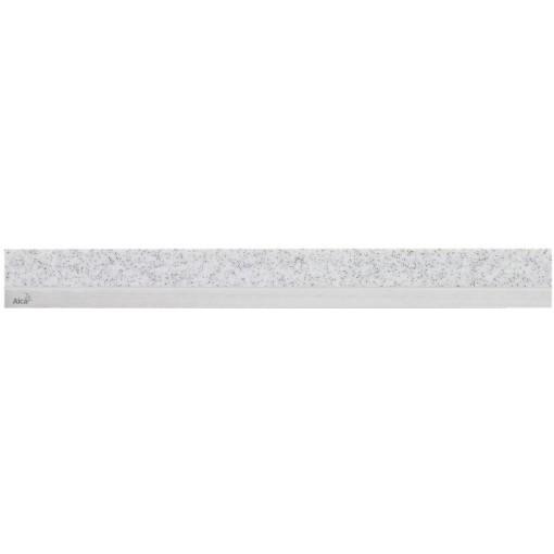 Alcaplast MINERAL POSH Rošt pro liniový podlahový žlab syntetický kámen Granit  nerez mat (MP1207-1050)