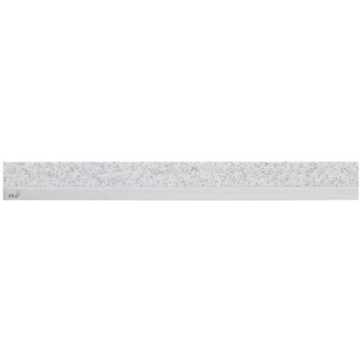 Alcaplast MINERAL POSH Rošt pro liniový podlahový žlab syntetický kámen Granit  nerez mat (MP1207-850)