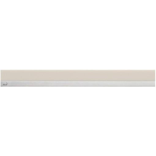 Alcaplast MINERAL POSH Rošt pro liniový podlahový žlab syntetický kámen pískový  nerez mat MP1206-750