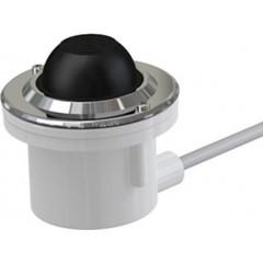 Alcaplast Oddálené pneumatické splachování nožní do podlahy kov (MPO12)