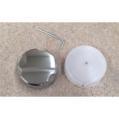 Alcaplast P0041-ND sifonová rozeta plast/chrom pro A51CR, A54CR, Alcaplast plast (P0041-ND)