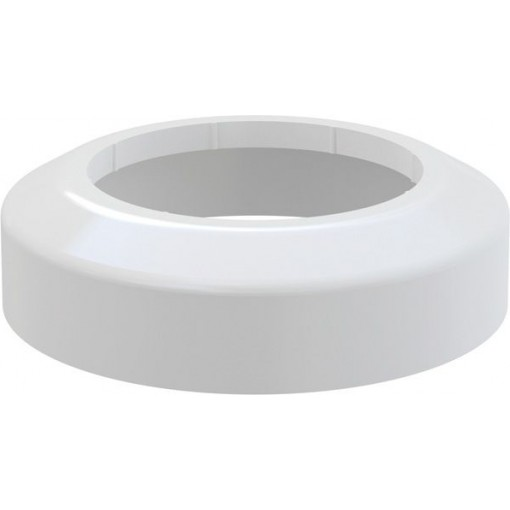 Alcaplast WC rozeta malá DN110 krycí růžice bílá 110x170x45 A98