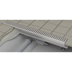 Alcaplast APZ101-1150-LOW podlahový žlabvýška 55mm SNÍŽENÝ kout min. 1200mm (APZ101-1150)