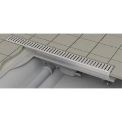 Alcaplast APZ101-550-LOW podlahový žlabvýška 55mm SNÍŽENÝ kout min. 600mm (APZ101-550)